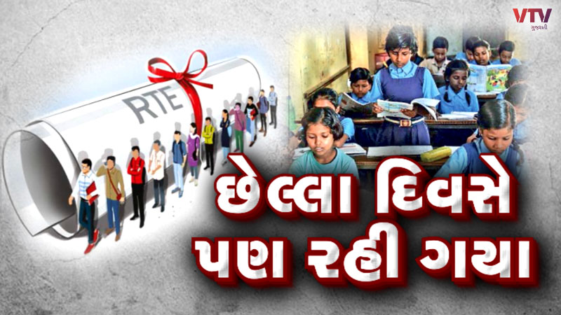 Time to fill up the form under RTE in Gujarat is complete