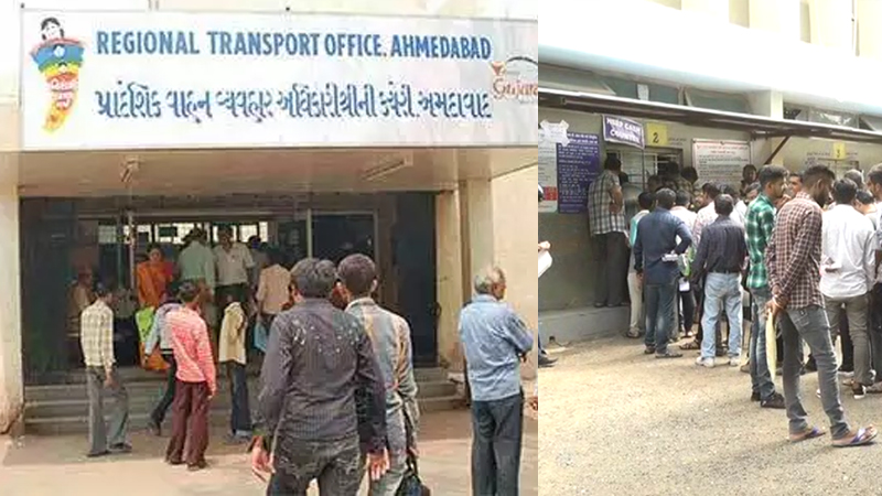 RTO offices Sunday Gujarat Transport Department meeting
