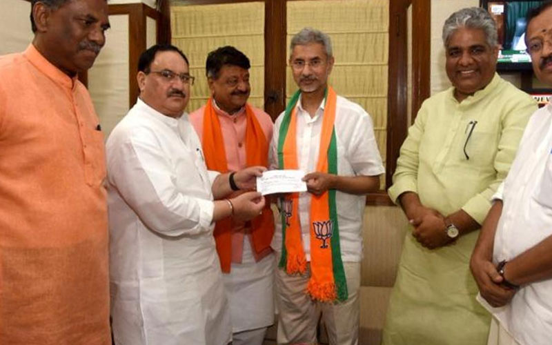Bjp Releases List Of Two candidate name For Gujarat Rajya Sabha By election