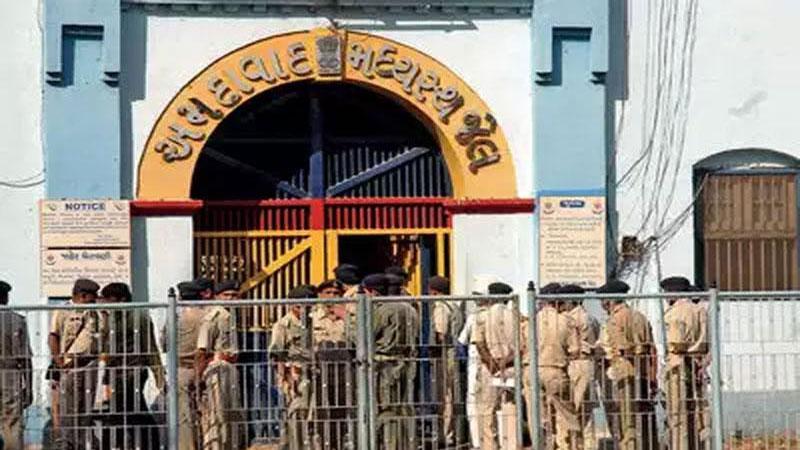 gujarat police jail ahmedabad Nonlinear junction detector mobile phone