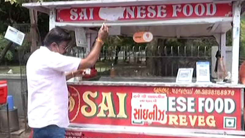 Outrage against China Vadodara traders change shop names from Chinese to sainese
