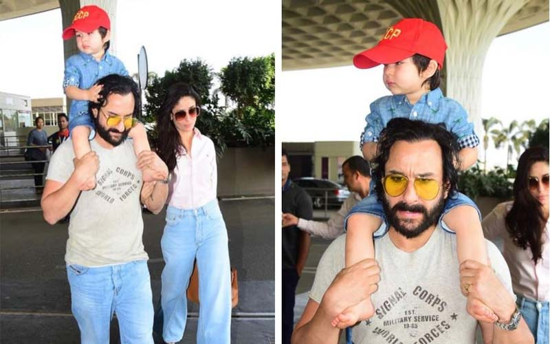 Saif blasts on photographers for clicking son taimur pics