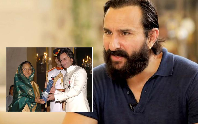 saif ali khan says i wanted to give back padmashri to the indian government i dont deserve