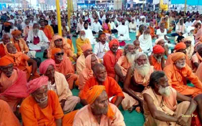 Saints from across the country to meet in Ayodhya today