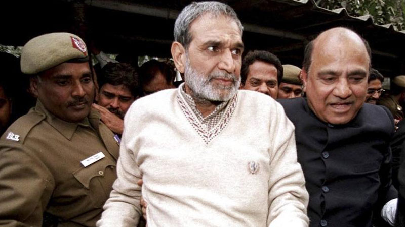 1984 anti sikh riots case no relief to sajjann kumar from supreme court
