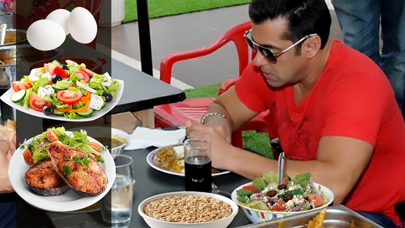 Bollywood Actor Salman Khan Spends 8000 Rs per day for his Diet