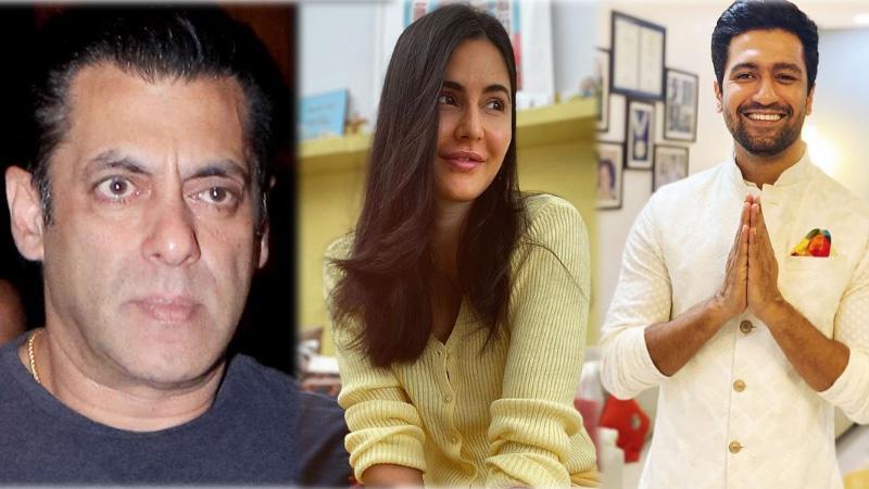 When Vicky Kaushal proposed to Katrina Kaif in front of Salman Khan sang Mujhse Shaadi Karogi video viral