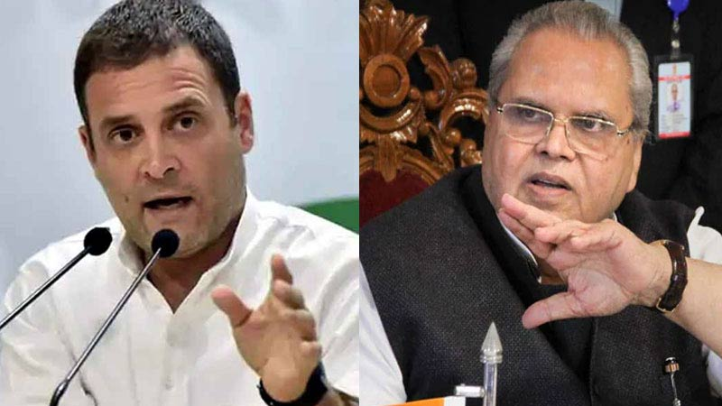 No Conditions. When Can I Come? Rahul Gandhi's Comeback To Jammu and kashmir Governor