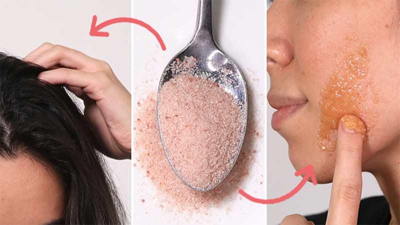 salt home remedies for glowing skin teeth and hair