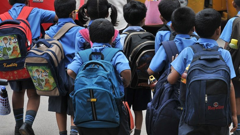 Union Ministry Of Education Sent Final School Bag Policy To States