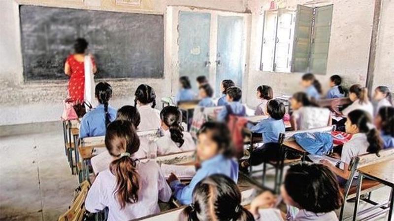 Dummy teacher in mehsana government school