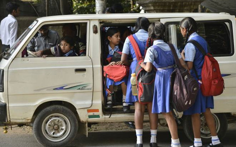 school van rickshaw fare not hiked