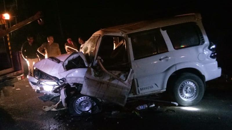 Three killed accident near Himmatnagar Sabarkantha