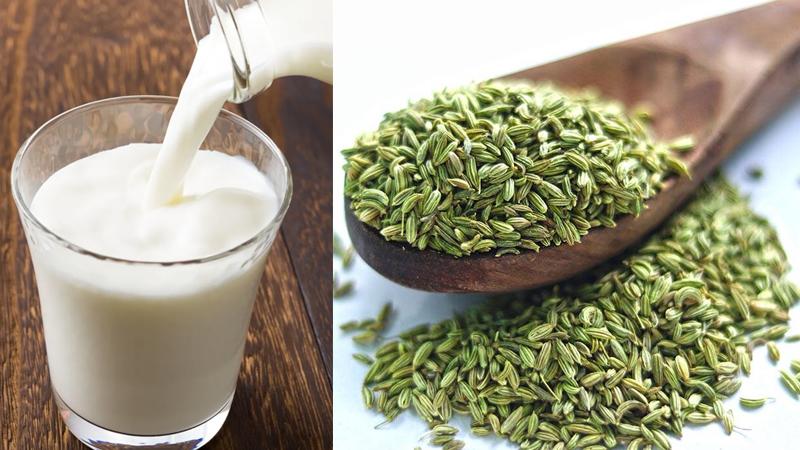 Take Fennel Saunf Milk Daily To Get These Health Benefits