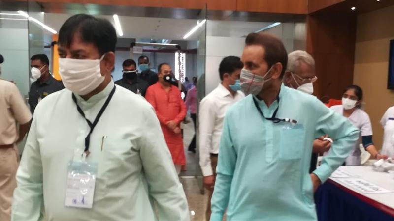 Gujarat Rajya sabha elections 2020 voting start at gandhinagar