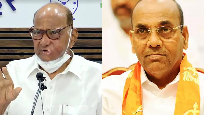 Shiv Sena leader lays serious allegations on Sharad Pawar