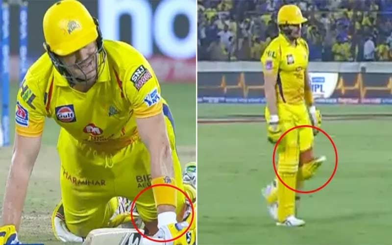 shane watson new video going viral on social media with injured bleeding leg after final of ipl 2019