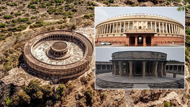 Bateshwar Shiv temples and chausath yogini temple in morena