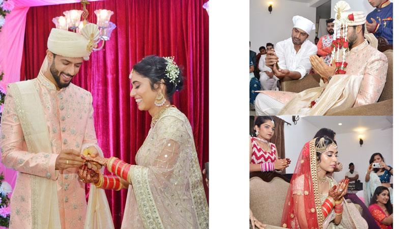 Shivam dubey married to his long time girlfriend anjum khan