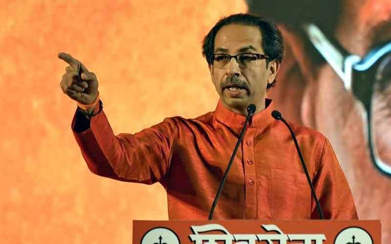 Uddhav Thackeray Shiv Sena Congress Gandhi Family