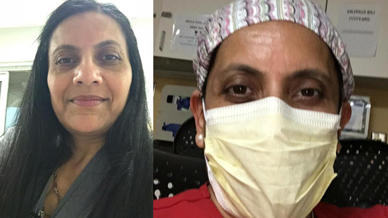 On World Health Day A Indian Woman Doctor share her experience of corona sample testing at America