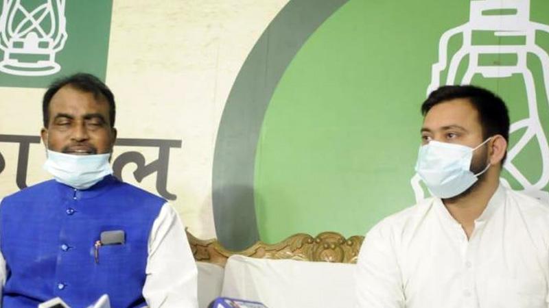 Bihar leader shyam rajak jdu mla join rjd