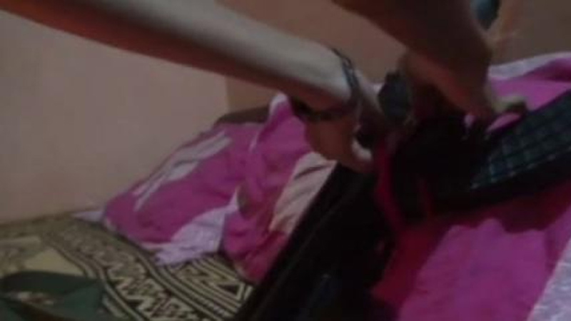 At Chhatisgarh Woman Ties Rakhi On Rifle Of Constable Brother Killed By Maoists