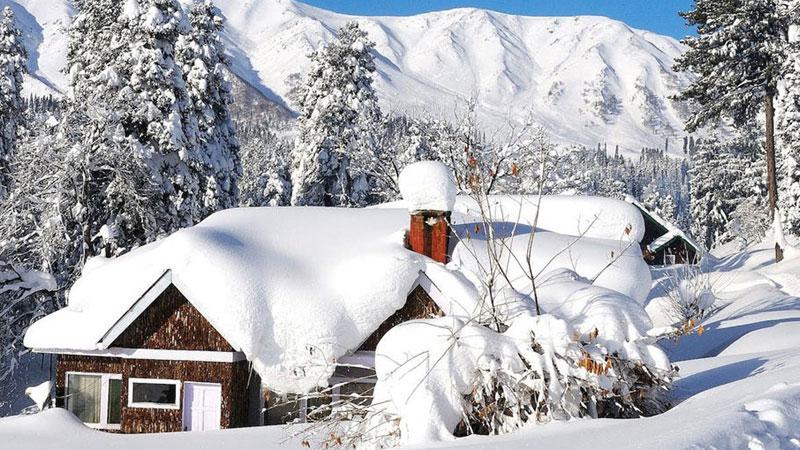 Orange Alert Issued in Jammu Kashmir and Ladhakh Over Heavy Rain Snowfall