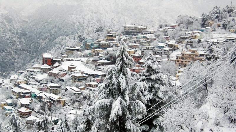 Snowfall In Uttarakhand and Himachal Pradesh