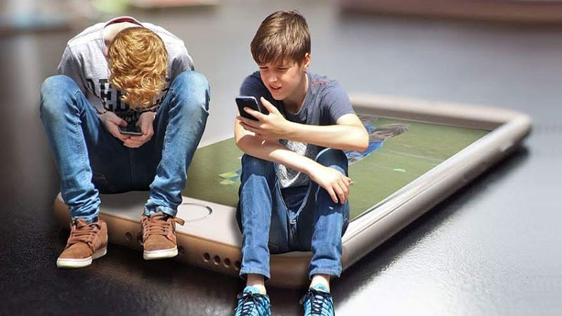 social media addiction is not that much bad for children