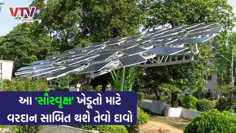 Worlds Largest Solar Tree made by CSIR
