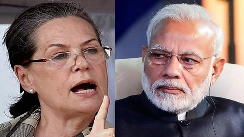 congress attacked pm modi for export of hydroxychloroquine to us