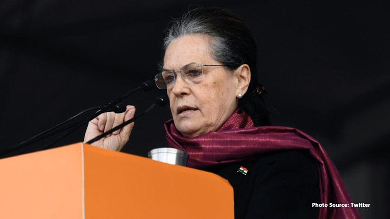 An FIR filed against congress president sonia gandhi
