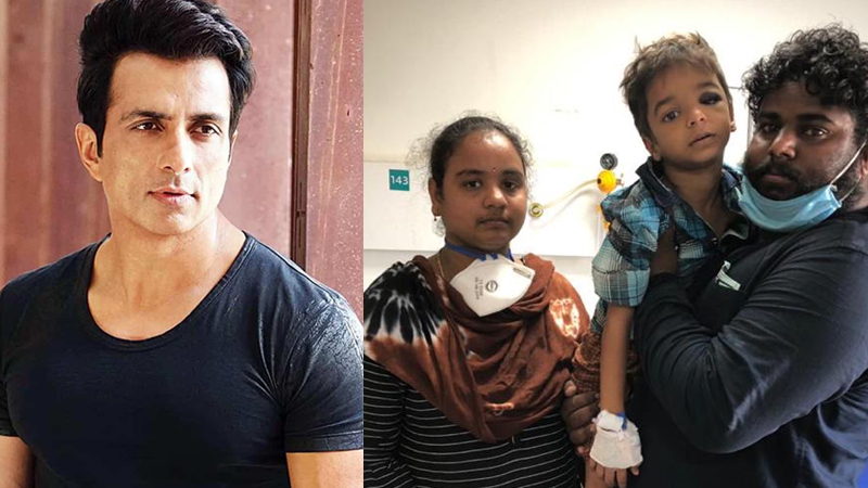 sonu Sood Helped In Treatment Of 6 Year Old Kid Who Fell From Building