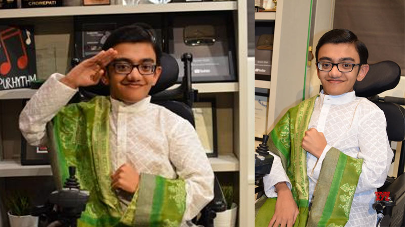 Howdy Modi indian origin teen sparsh shah to sing national anthem in America