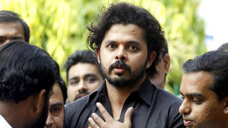 bcci cricketer s.sreesanth life ban reduced
