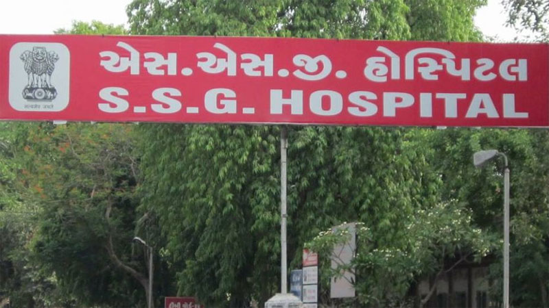 vadodara ssg hospital get vmc notice about mosquito breeding