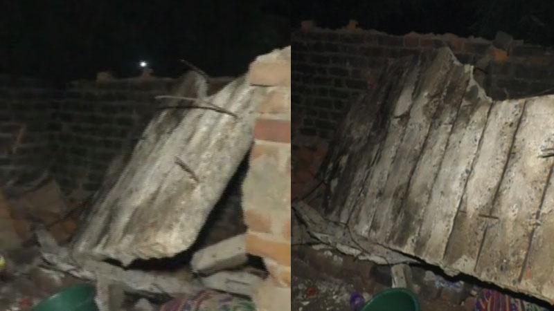 House Slab collapse mother-daughter killed 2 injured in Kalol panchmahal