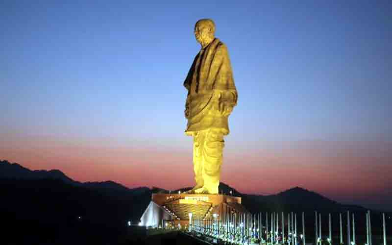 Statue of Unity Traveler smart card facility