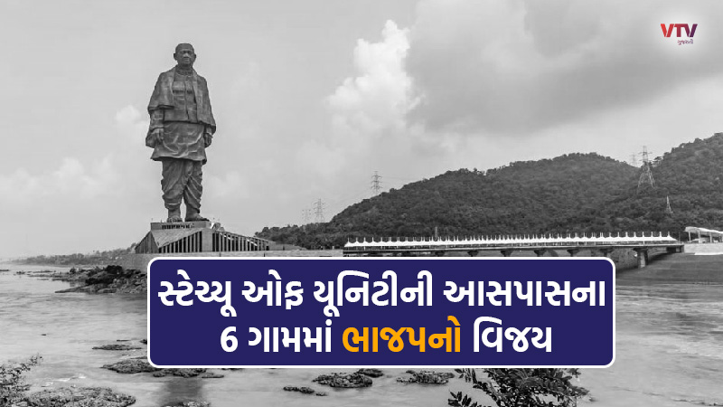 Find out the reason for BJP's victory amid protests over the Statue of Unity