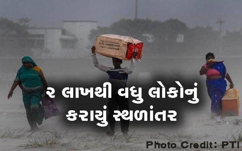 People Migration Vayu Cyclone Gujarat saurashtra