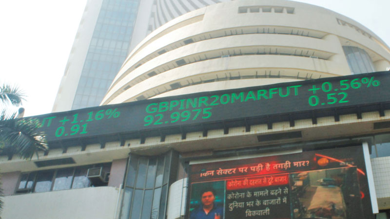 Share Market Today Opening In Red Mark Due To Coronavirus Fear