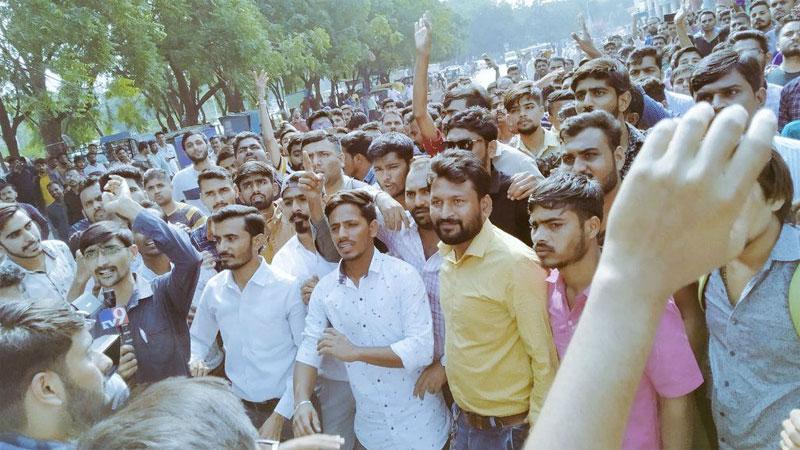 live bin sachivalay exams scam guj. govt. positive attitude about student demand