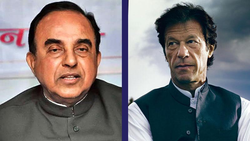 Subramanian Swamy Scalds Imran Khan Calls Him Dummy, ISI Parrot