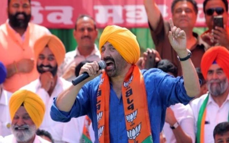 Sunny Deol Vinod Khanna BJP candidate Gurdaspur