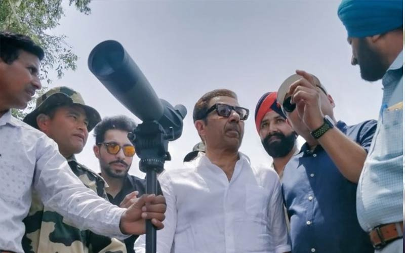 Sunny Deol visits Gurdaspur to review progress of work on Kartarpur corridor