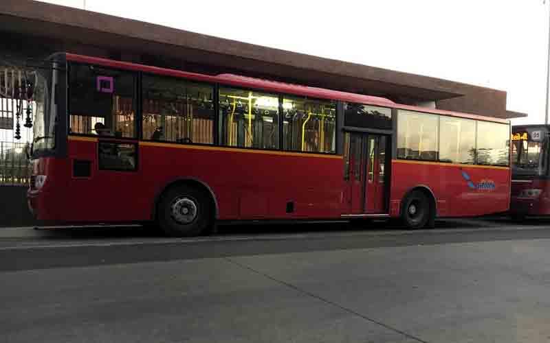 Surat BRTS Bus Driver strike