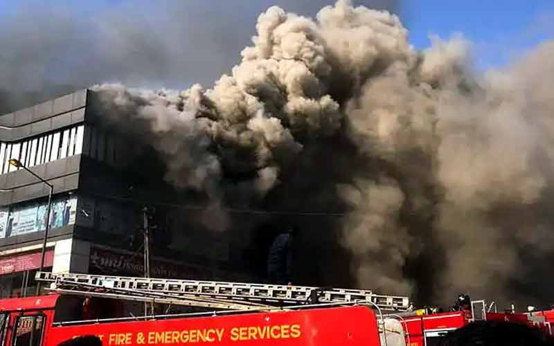 Surat coaching center fire one more student death