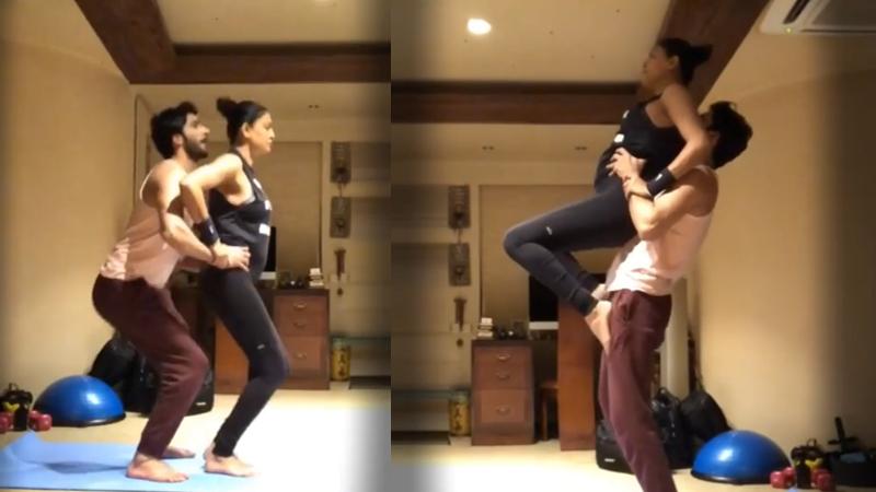 Sushmita sen workout with boyfriend rohman shawl shared advice on stable relationship video