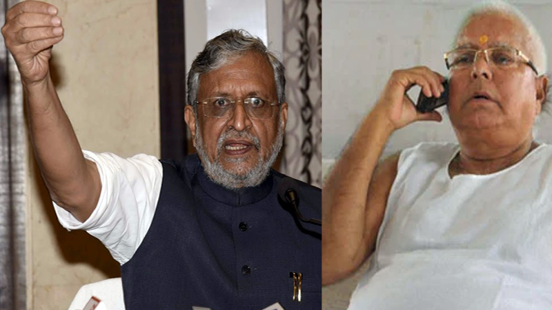 Lalu yadav is trying to buy NDA mla  alleges sushil modi